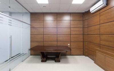 отделка деревянными панелями